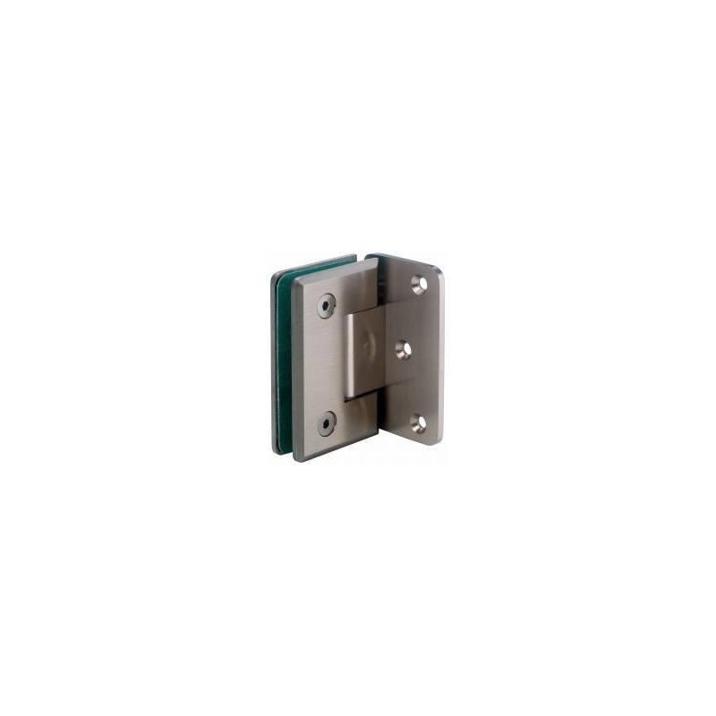Zawias szkło-ściana 90 mocowanie boczne GX990.1 OS