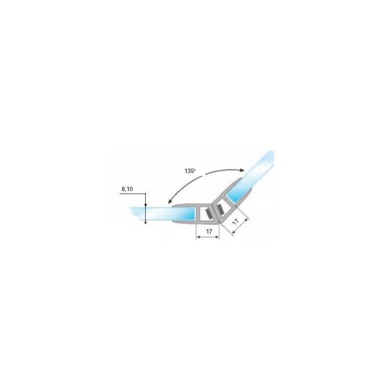 Profil do montażu Uszczelki magnetycznej AP08, AP10