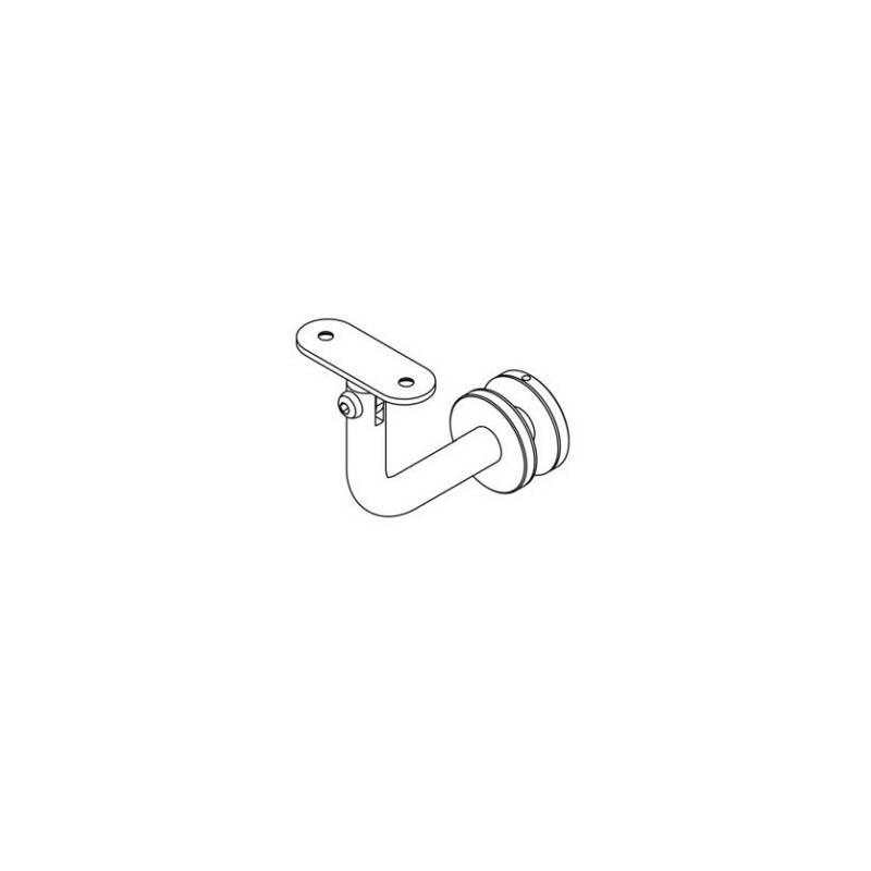 Łącznik poręcz-szkło EB02